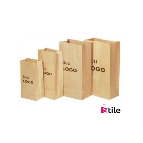 Sacos de Papel Kraft para delivery